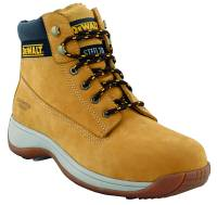 Dewalt Apprentice tan steel toe cap safety boot